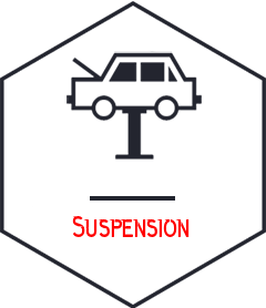 Suspension - vehicle repair Campbellfield black icon - somerton tyres: best tyres and mags campbellfield