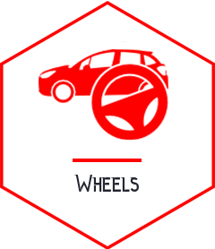 wheel vehicle repair Campbellfield white icon - somerton tyres: best tyres and mags campbellfield