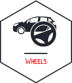 wheel vehicle repair Campbellfield black icon - somerton tyres: best tyres and mags campbellfield